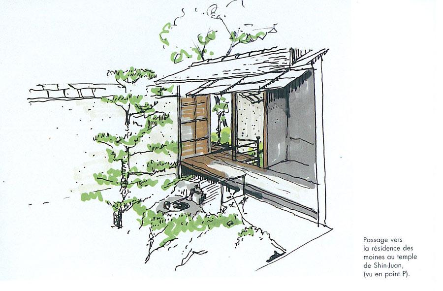 principes influences d 39 architecture japonaise japon vernaculaire philosophie m diterran e. Black Bedroom Furniture Sets. Home Design Ideas